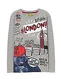Desigual TS_Ringo, Camiseta para Niños, (Gris Vigore Claro 2042), 152 (Talla del Fabricante: 11/12)
