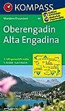 Oberengadin - Alta Engadina: Wanderkarte. GPS-genau. 1:40000 (KOMPASS-Wanderkarten, Band 99)