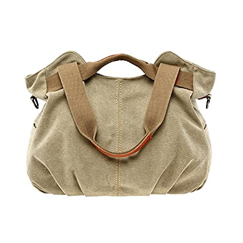 BYD - Mutil Function Damen Handtaschen Schule Bag Shopper handtaschen Colorful Canvas Tote Bag Schultertaschen with Double Strap