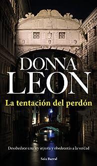 La tentación del perdón par Donna Leon