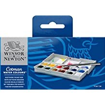 Winsor & Newton - Cotman Watercolor Sketcher 12 Acquarelli