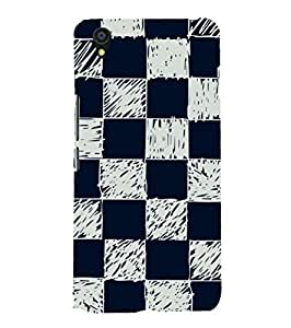 Fuson Designer Phone Back Case Cover OnePlus X :: One Plus X ( Random Check Pattern )