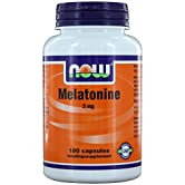 Melatonine 3 mg (180 caps) - NOW Foods - 51QBK1h3fXL. SS166