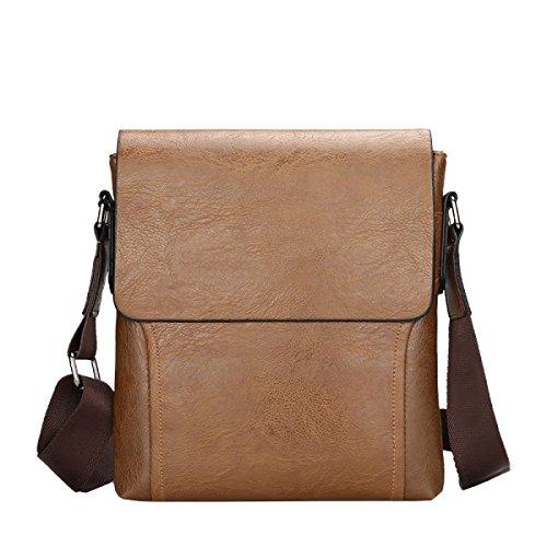 Yy.f Geschäfts- Und Freizeitreisetaschen Aktentaschen Gezeitentaschen Für Männer Herrentaschen Aus Leder Schlanke Klassische Praktische Reisetaschen Computertaschen. Mehrfarbig Red