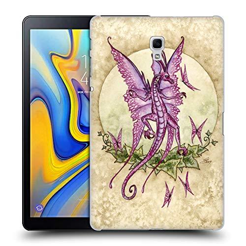 Head Case Designs Offizielle Amy Brown Tanzende Drachen Mythisch Ruckseite Hülle für Samsung Galaxy Tab A 10.5 (2018)