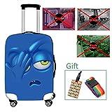 Luggage cover Housse de Valise Housse de Protection pour Valise Trolley élastique et...