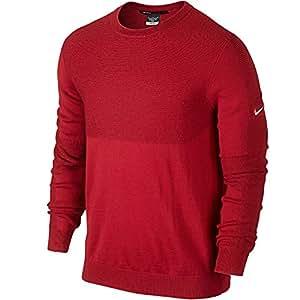 Nike Golf Tiger Woods Aspirant Golf Pull, University Red/Wolf Grey