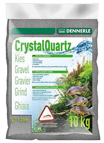 Dennerle 1731 Kristall-Quarzkies, schiefergrau, 10 kg