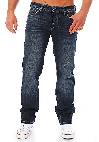M.O.D Herren Jeans straight 34/34 (Jugendliche 5-pocket-jeans)