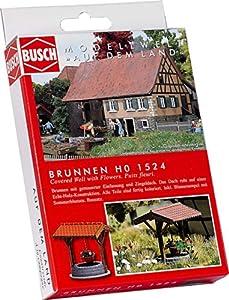 Busch - Edificio ferroviario de modelismo ferroviario Escala 1:87 (BUE1524)