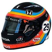 Réplica 1:2 Casco Fernando Alonso McLaren Honda Indy ...