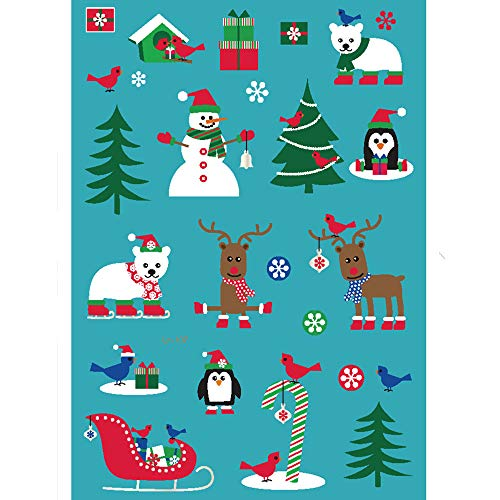 Mitlfuny Gesundheit Und SchöNheitDIY Dekoration 2019,Weihnachtsleuchtende glühende temporäre -