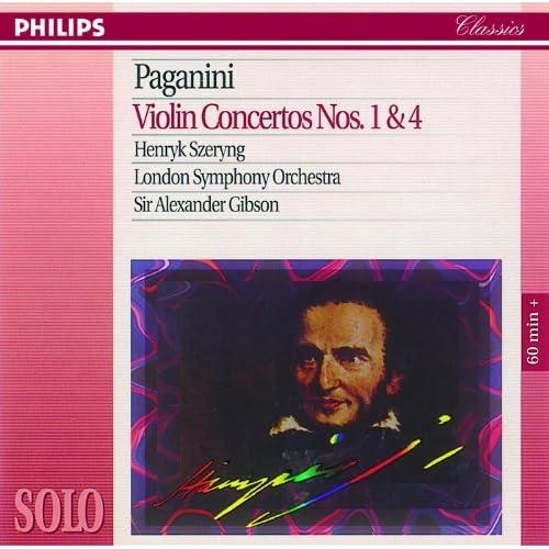 Paganini: Violin Concertos Nos. 1 & 4