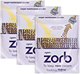 Genuine Dyson Zorb Carpet / Rug Cleaning Powder (Pack of 3)