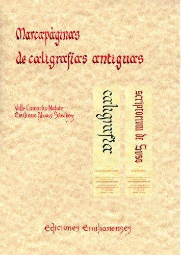 Marcapáginas caligrafías antiguas Escritorio Emilianense