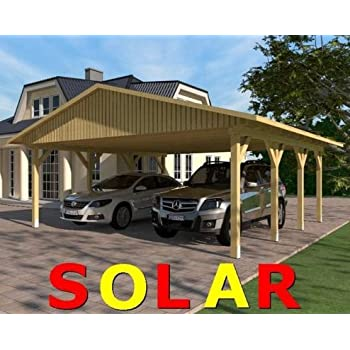 carport satteldach monza i 600cm x 500cm bausatz satteldachcarport auto. Black Bedroom Furniture Sets. Home Design Ideas