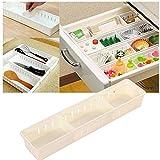 Hongch Einstellbare Aufbewahrungsbehälter New Schublade Organizer Home Küchen Brett Divider Make-up Aufbewahrungsbox Bleistift Schmuck Organizer