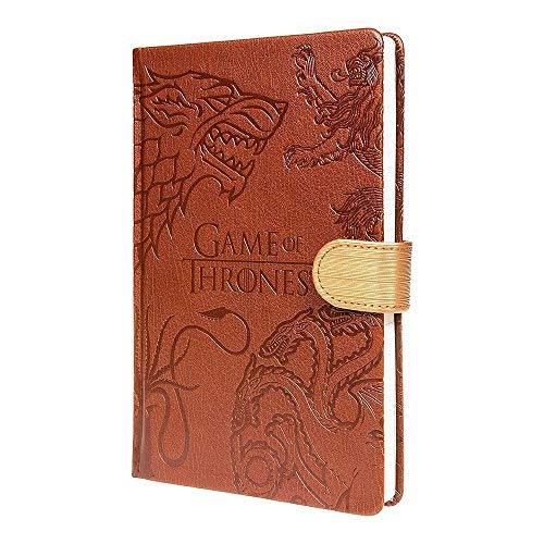 Game of Thrones – Westeros Häuser – Notizbuch in DIN A5 | liniert | 100 Seiten