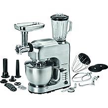 ProfiCook PC-KM 1004 Robot de Cocina multifunción, Cuerpo de Metal, 1400 W