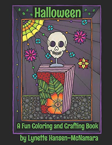 Halloween: A Fun Coloring and Crafting Book