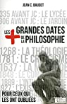 Les plus grandes dates de la philosophie par Baudet