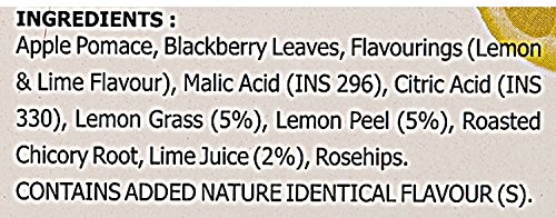 Typhoo Lemon and lime zest Tea, 25 Tea Bags