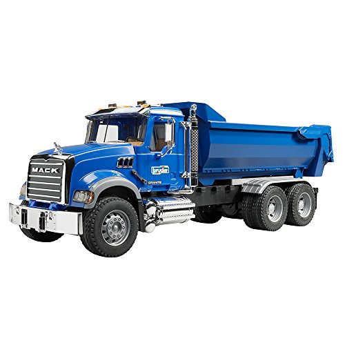 bruder-2823-vehicule-miniature-camion-benne-mack-granite-halfpipe-bleu