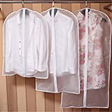 sukisuki Kleidung Bezüge Taschen Garment Staubdicht Storage Displayschutzfolie Tasche, 1Stück, plastik, farblos, 60*100cm