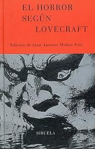 El horror según Lovecraft par  F. M. Crawford