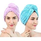 hj Strong Imbottitura ultrafina Fibra secca Cappello Sciarpa Cappello Ispessimento per Aumentare i Capelli del Cappello da Bagno per Bambini Adulti Multicolore Opzionale 2 (Color : 3#)