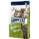 Happy Cat Adult Weide-Lamm, 1er Pack (1 x 300 g)