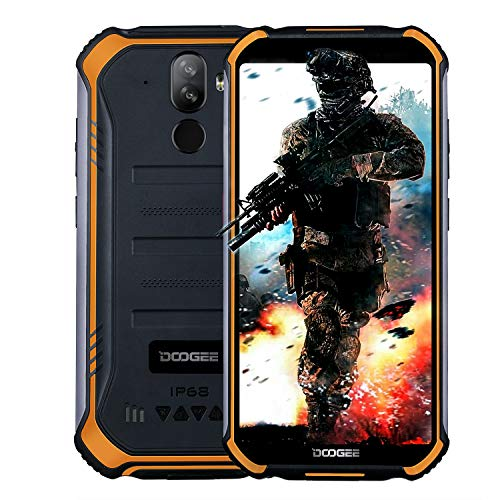 Doogee s40 android 9.0 rugged smartphone in offerta 4g, dual sim cellulari offerte ip68/ip69k impermeabile outdoor 2gb+16gb, 5.5