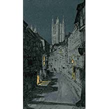 A4 Photo Maxwell Donald 1877 1936 Kent 1922 Canterbury The Angel Tower Print Poster