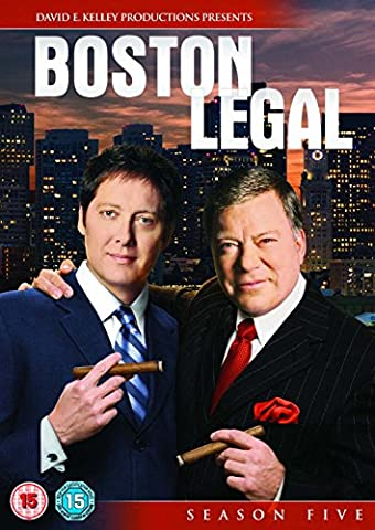 Boston Legal S5 [Import anglais]