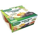 Blédina coupelles fruits pomme prune cannelle 4x100 g dès 8 mois - ( Prix Unitaire ) - Envoi Rapide Et Soignée