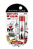 #10: Maybelline Baby Lips Alia Loves New York, Broadway Red, 4g