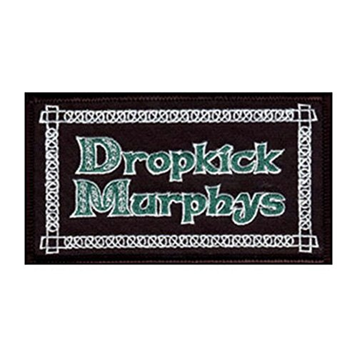 DROPKICK MURPHYS LOGO, Officially Licensed, Iron-On / Sew-On, Embroidered PATCH (Betsy Ross Hat)
