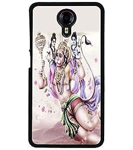 ColourCraft Lord Hanuman Design Back Case Cover for MICROMAX CANVAS XPRESS 2 E313