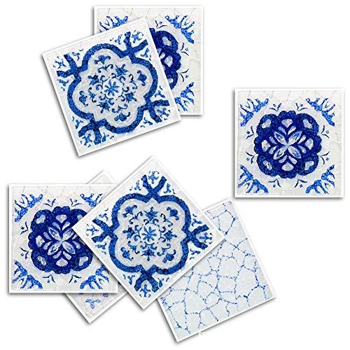Holywonder Etiqueta engomada azulejo 3D Etiqueta Pared