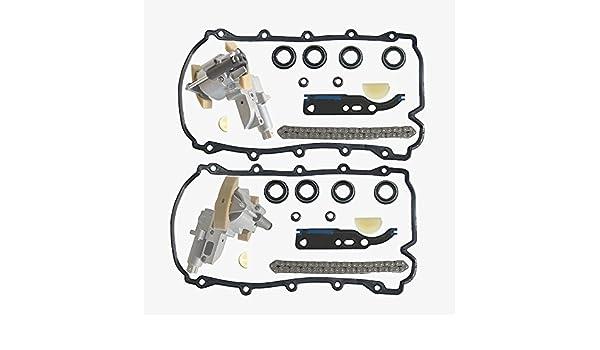 Pair Camshaft Adjuster Spanner Chain Tensioner 077109087//077109088//°C//E//P