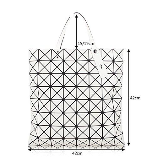 Diamante laser-a forma di borse a catena pieghevole, pacchetto geometrico della rete ling, diagonale cross variet¨¤ piccolo pacchetto-D C