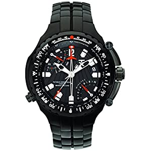 Timex H2Z461 TX 770 Sports Series Reloj cronógrafo de doble tiempo brújula