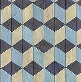 Klebefolie Möbelfolie Stack bunt geometrisch Dekorfolie 45 cm x 200 cm Selbstklebefolie