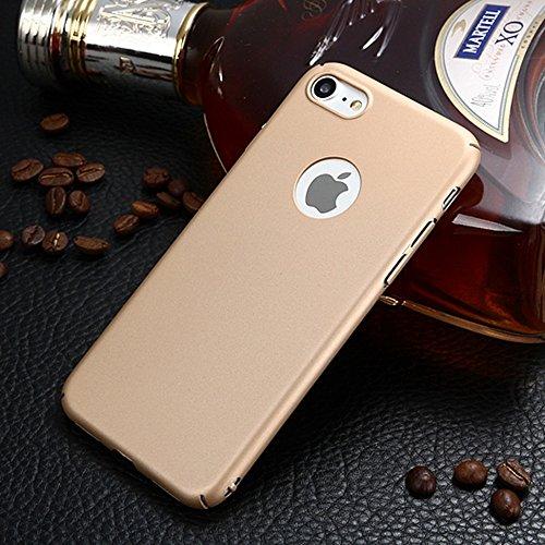 EKINHUI Case Cover Für Apple IPhone 7 Abdeckungs-Fall, helles Oberflächen-dünnes u. Leichtes Gewicht-Plastik harter schützender rückseitige Abdeckung ( Color : Red ) Gold
