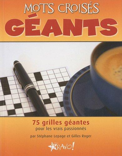 Mots croisés géants par Stéphane Lepage