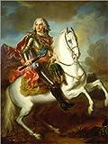 Poster 30 x 40 cm: König August II. (der Starke) von Polen
