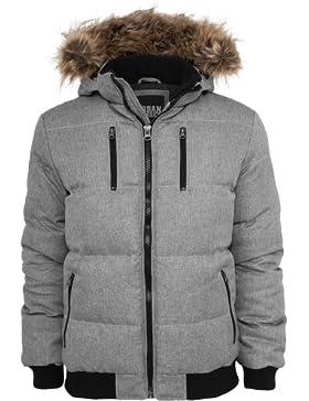 MAG Urban Classics tb573Melange Expedition Jacket Chaqueta Hombre Streetwear Winter Jacken, Large