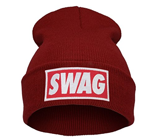Preisvergleich Produktbild Beanie Hüte Mützen Damen Herren Bad Hair Day Bastard Meow Swag Wasted Commes HAT HATS Morefazltd (TM(swag black)
