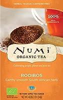 """Numi"""" Thé Bio et du Commerce équitable Rooibos- 6 cartons DE 18 filtres chacun"""