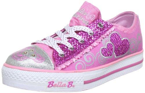 Skechers AuditionsTwirl N' Swirl 10266L, Mädchen Sneaker, Pink (PKHP), EU 32